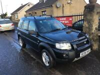 LAND ROVER FREELANDER 2.0 TD (06) 1 YEAR MOT, WARRANTY £2395