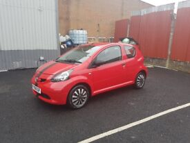 Toyota Aygo 1.0 VVT-i 3dr Red £1900. **Price Dropped From £2100** First come first served!