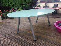 IKEA Galant glass top kitchen / dining table