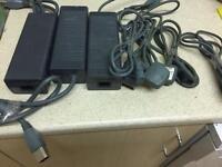 3x XBOX 360 Power Supply 175/203w (Genuine Microsoft) Job Lot