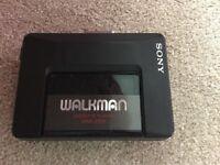 Sony Walkman vintage cassette player