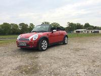 Mini One Convertible,mot November, good all round condition,Ready To Go