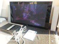 Pioneer 42'' Plasma Display TV system, wall mounted only with 2 external speakers