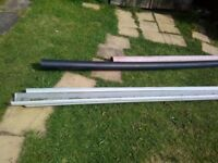 Selection of gutters and drain pipes
