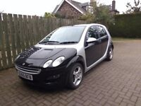 Smart Forfour 1.3 Passion Top Of The Range Rare Car, polo clio ibiza corsa class but better.