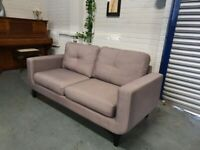 Nice grey 2 seater sofa + free delivery
