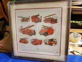 Fire engine picture brand new