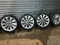 VW Scirocco alloys