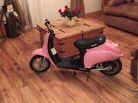 Girls mini moto bike