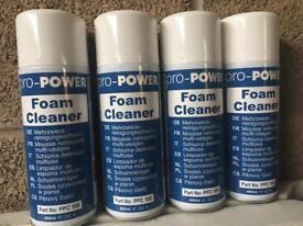 Foam cleaner industrial x4