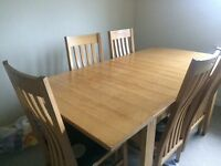 Barker and stone house table and chairs