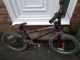 Vector bmx bike