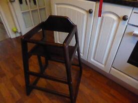 Wooden Babychair