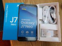 Samsung Galaxy J7 NEO 2017 16GB 4G lte BLACK Dual Sim Unlocked smartphone