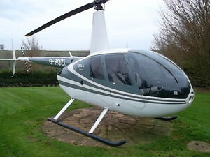 ROBINSON R44 HELICOPTER, 120 KNT 4 PLACE HELICOPTER, 800HRS OR 6 YEARS TO HMI,