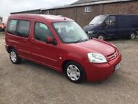 54 REG CITREON BERLINGO MULTISPACE DIESEL CAME IN PX TODAY CHEAP RUNABOUT ANYTRIAL WELCOME
