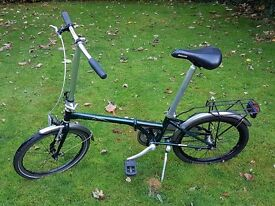 DAHON Boardwalk Uno Lightweight Frame Folding Bike