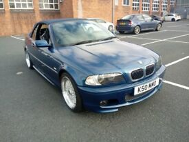 BMW 330CI 2002 CONVERTIBLE -E46 HIGHLY MAINTAINED - WOLVERHAMPTON