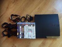Playstation 3 PS3 320gb + 13 Games