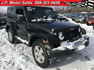 2008 Jeep Wrangler Sahara, Manual, Hard Top, 4x4