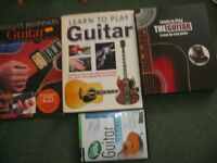 Beginners Guitar books and DVD