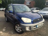 Toyota RAV 4 1.8 3dr Estate Air Condition excellent Engine IDEAL FOR EXPORT