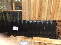Two in a pack 6 ft by 2 ft trellis fence panels