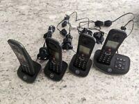 BT advanced home phone - 4 Handsets
