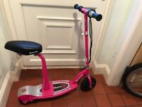 Razor E100s Electric scooter PINK