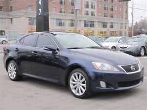 2009 Lexus IS 250 AWD ~ SUNROOF ~ LEATHER ~ AUTO !!!