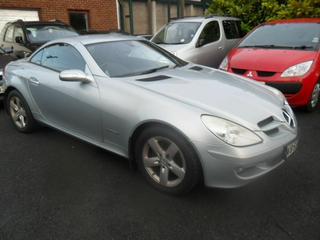 mercedes slk 200 kompressor auto 2005 motd in dromore county down gumtree. Black Bedroom Furniture Sets. Home Design Ideas