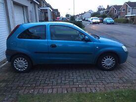 Vauxhall Corsa 1.2i 16V Club 3dr LONG MOT
