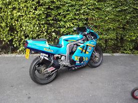 suzuki gsxr400 gk76a rizla colours by dream machine
