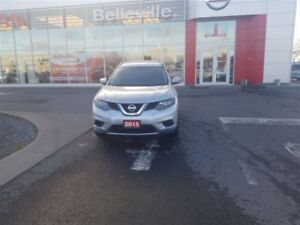 2015 Nissan Rogue S AWD 1 OWNER LOCAL TRADE