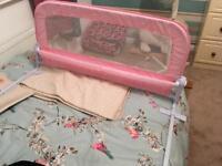 Child's bed rail