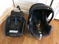 Maxi Cosi Car Seat AND Cabriofix Easy Base