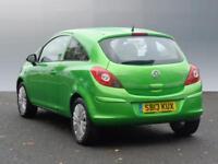 Vauxhall Corsa ENERGY ECOFLEX (green) 2013-06-19