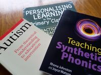 Books: Studying at college or university? Box of education text books for sale