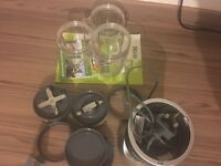 Used Nutri Bullet with all accessories & recipe book