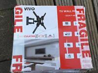 Tv wall mount bracket swivel