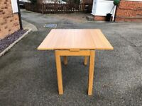 Table and 4 chairs - Ikea Bjursta