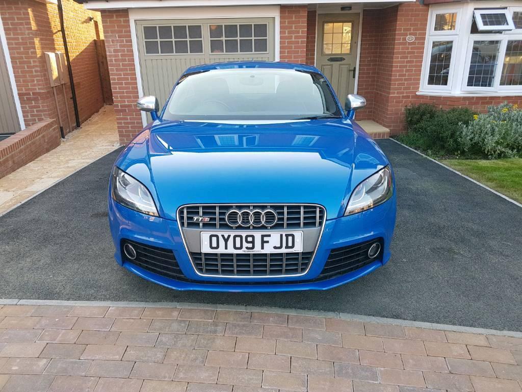 Audi TTS 2.0 TFSI Quattro Sprint Blue