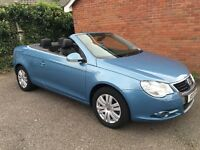 VW EOS 1.6L FSI Convertible. £3250.00 Very Good Condition.