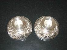 Candleholders/Hecworth Reproduction Old Sheffield Silver Spreyton Devonport Area Preview