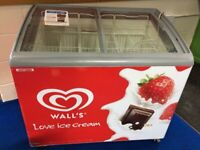 AHT ICE CREAM SHOP/ CATERING DISPLAY CHEST FREEZER IN EXCELLENT WORKING CONDITION