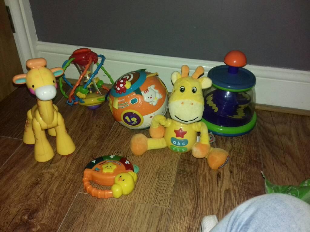 Bundle of toys inc V tech Little Tikes