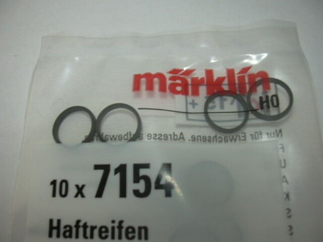 Märklin HO 7154 Haftreifen 10 Stück neu OVP