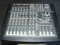 600WATT Stereo Powered Mixer -- STK VM-14SDN --300 WATTS PER SIDE into 4 ohms TESTED ALL WORKING