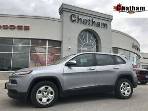 2014 Jeep Cherokee Sport/Uconnect w/ Bluetooth/$60 wkly
