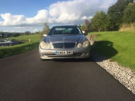 2004 MERCEDES BENZ E320 CDI AVANTGAURD VERY LOW MILEAGE FOR YEAR FULL MERCEDES SERVICE HISTORY